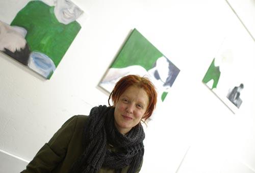 Kunstwechsel 2004 in der alten Geisweider Schule