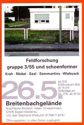 Kunstsommer 2006 Feldforschung