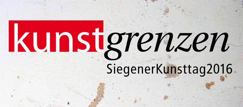 Kunstgrenzen mit der gruppe 3/55 Siegener Kunsttag 2016
