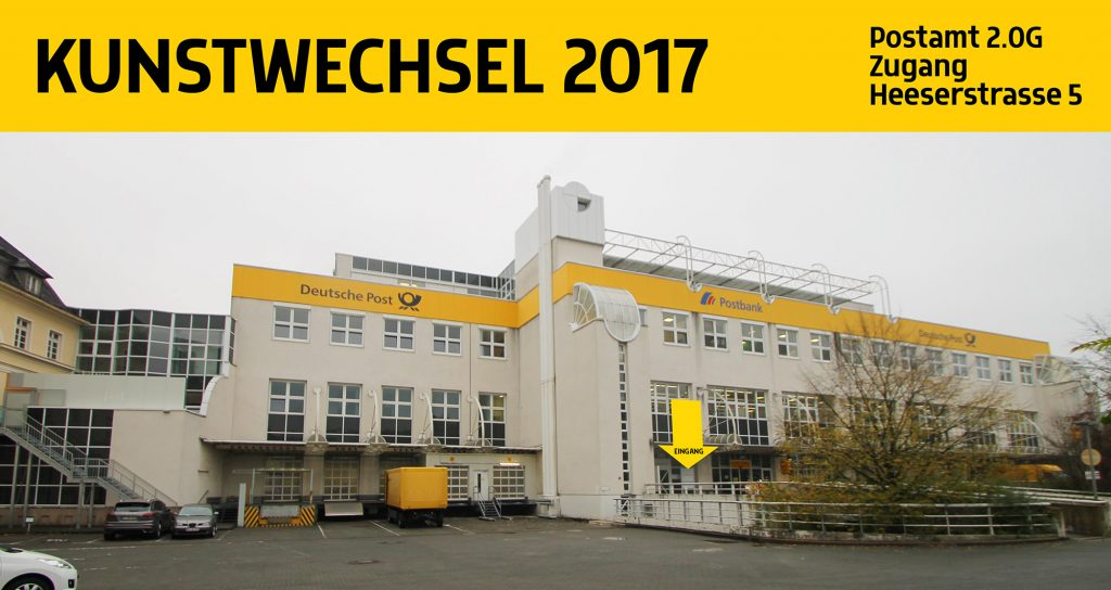 Kunstwechsel 2017 in der Post in Siegen