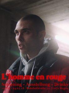 """""""Premiere / Ausstellung """"L'homme en rouge"""" MONOPO:I gruppe 3/55"""