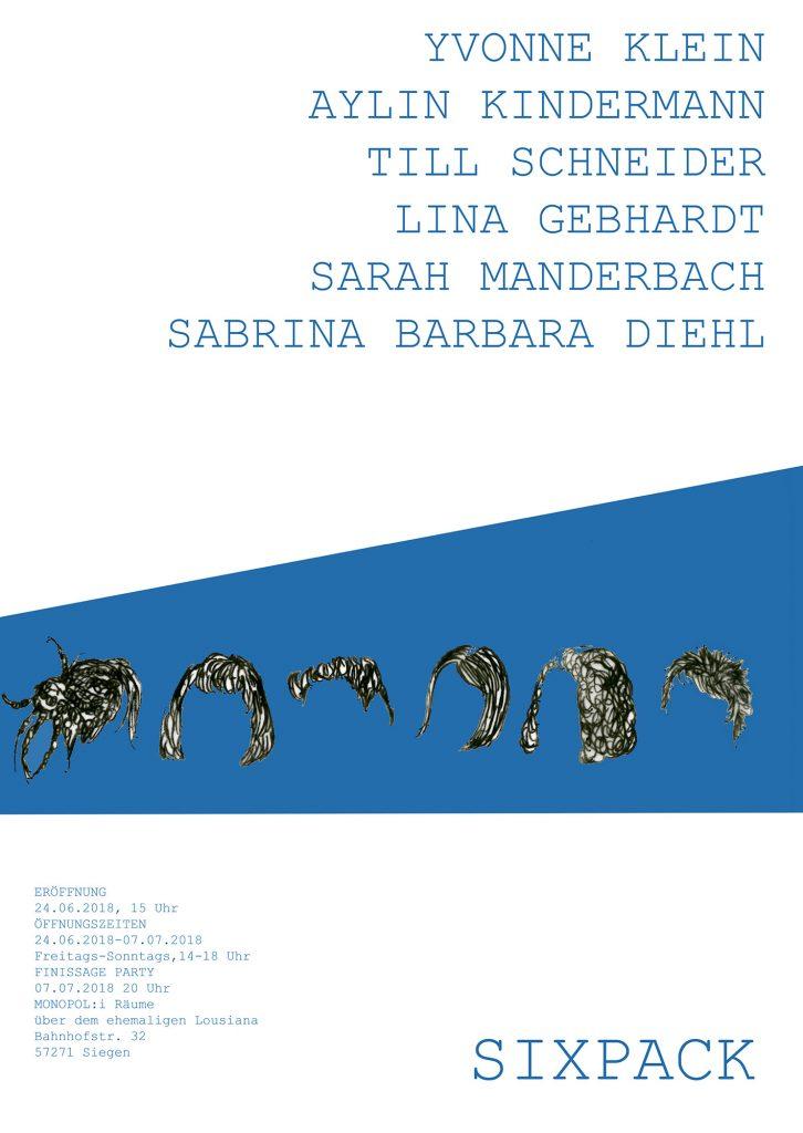 MONOPOLi gruppe 3/55 Ausstellung SIXPACK Siegen